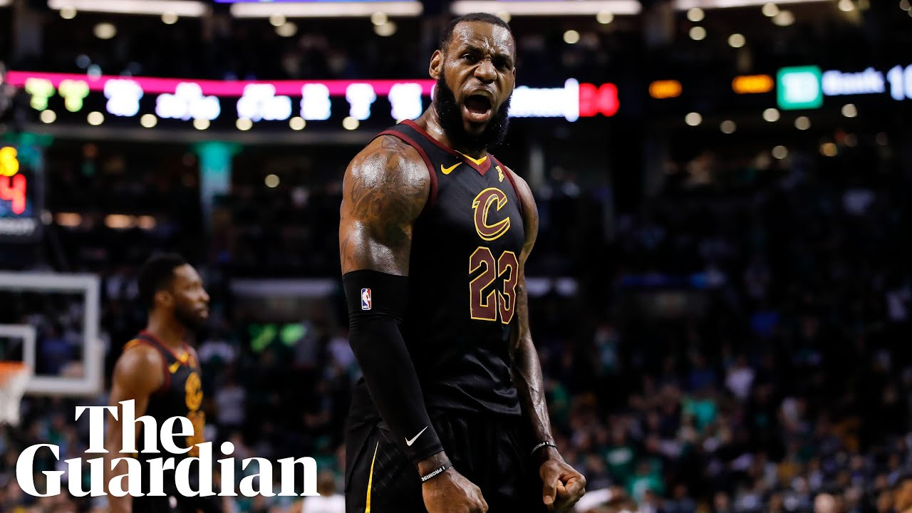 306045057 Dazzling LeBron James carries Cavaliers past Celtics and into NBA ...