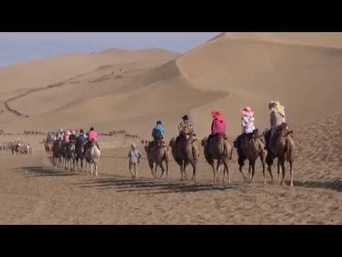 The Singing-Sand mountain / La montagne aux sables chantants ( Dunhuang - Gansu - China)