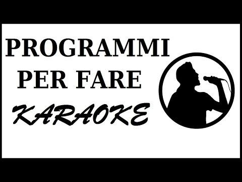 come fare karaoke al pc | programma karaoke per computer | come cantare al pc