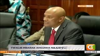 Anayewania kuwa CEO wa EACC Twalib Mbarak aeleza mikakati yake