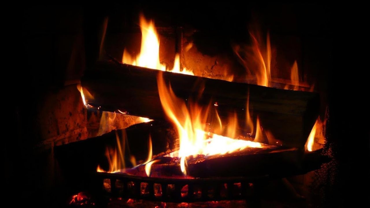 Beautiful Fireplace with Perfect Crackling Fire Sounds  TV Relax 2 Hours  YouTube