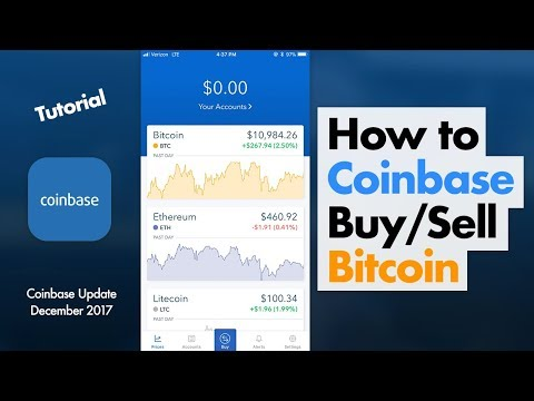 How to Use Coinbase App (Bitcoin)