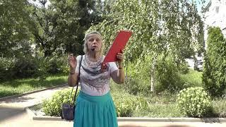 Л.И. Шаталова - участник акции ''Читаем вместе о войне''