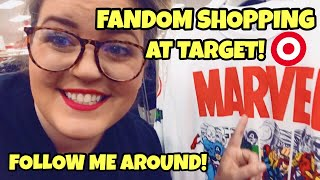 FANGIRL SHOPS AT TARGET! | FOLLOW ME AROUND