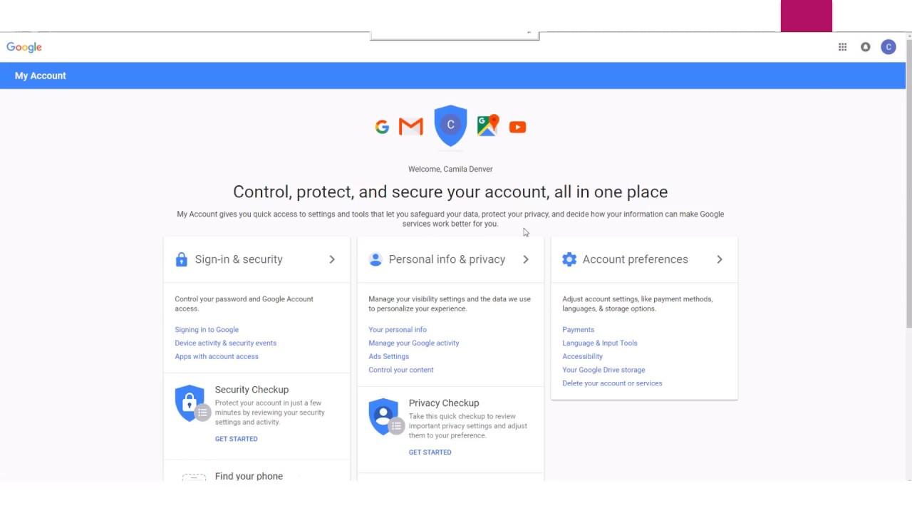 Crear Una Cuenta De Correo Electronico Con Gmail Youtube