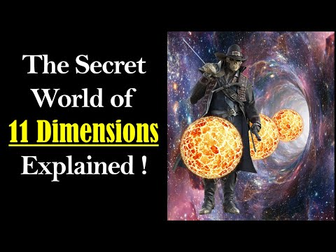 11 Dimensions Explained (Eleven Dimensions) - What are Dimensions & How Many Dimensions are there