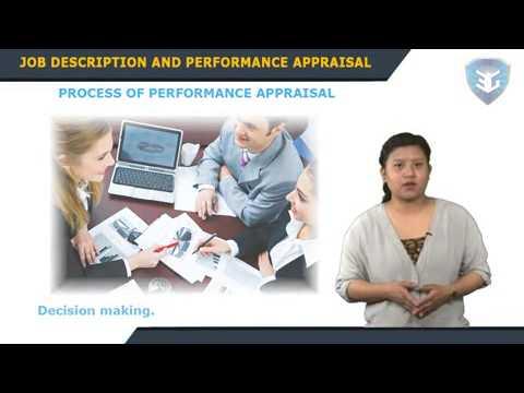 Job Description and Performance Appraisal