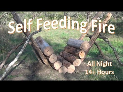 Self Feeding Fire -  14+ Hour Fire