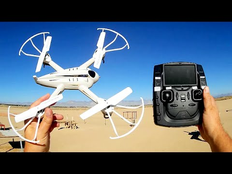 XinXun X-53F FPV Drone Test Flight Review