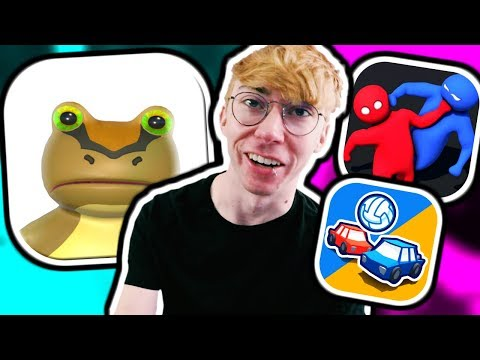 AMAZING FROG? - 3 Fun IPhone Games!