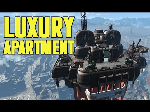 Fallout 4 - Luxury Apartment! Executive Suite On Top Of The World! Fallout 4 Ultrawide/21:9