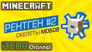 Minecraft. Новые Скелеты Мобов На Рентгене. #2