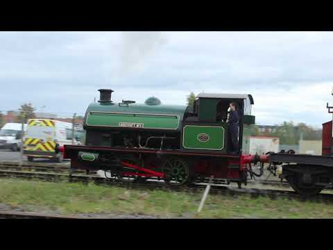 0-4-0 Agecroft No1 Brake Van Rides & Miniature Railway, National Railway Museum, York from YouTube · Duration:  3 minutes 58 seconds