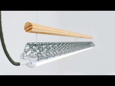 Customized Amazon LED Light Fixture // DIY