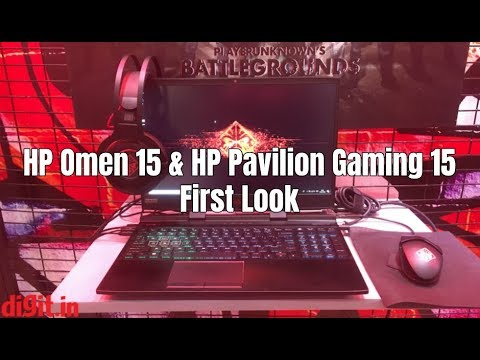 HP Omen 15 & HP Pavilion Gaming 15 First Look | Digit in