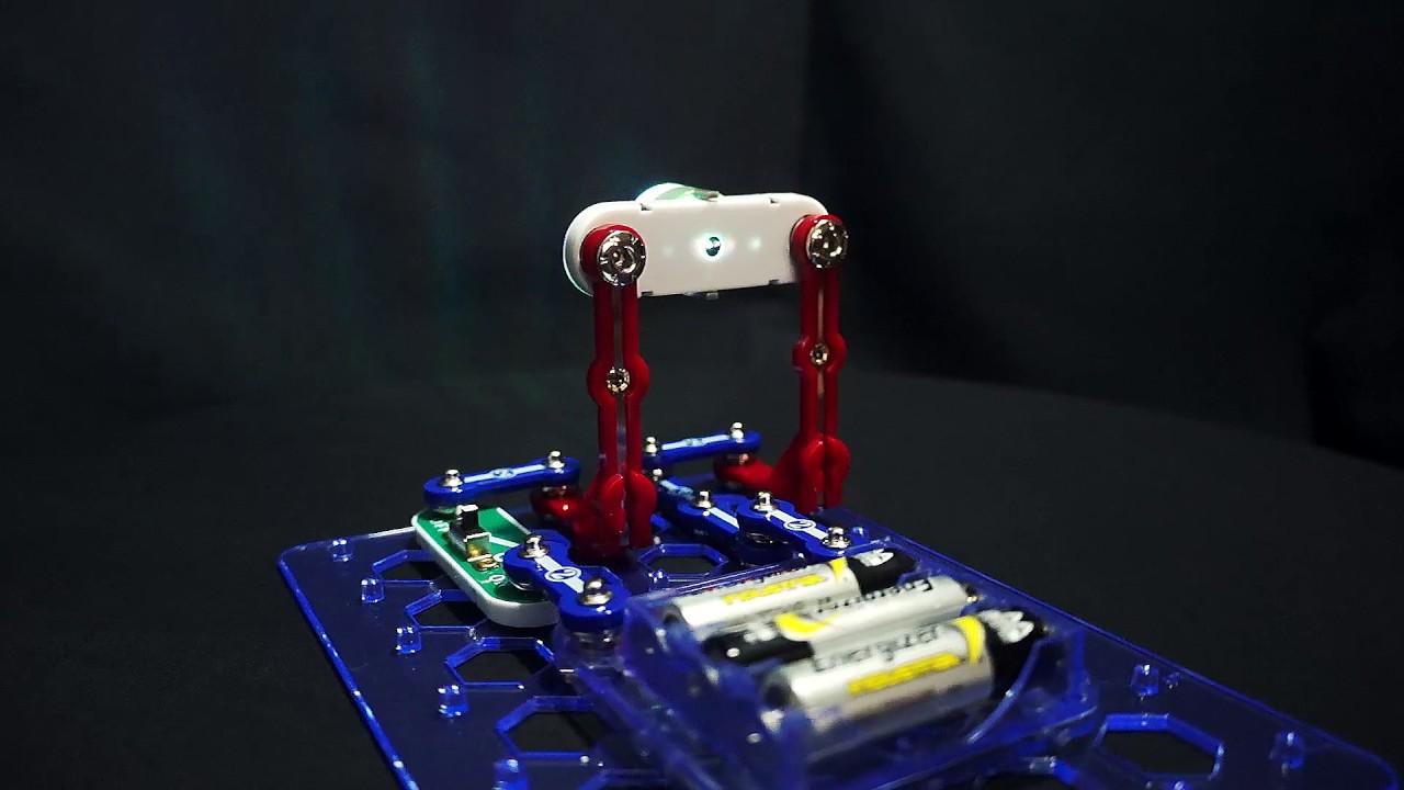 Snap Circuits 3d Illumination Model Sc3di Youtube Circuit Light By Elenco Ebeanstalk