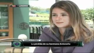 Camila Giorgi, entrevista, ESPN