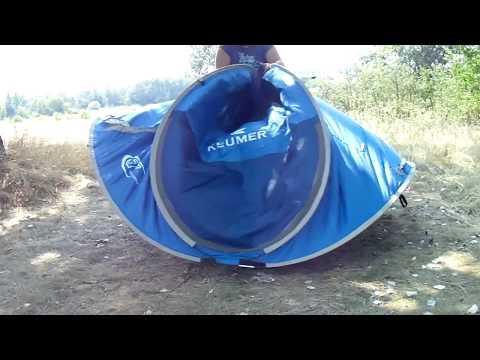 Nucamp x2 tent как собрать видео