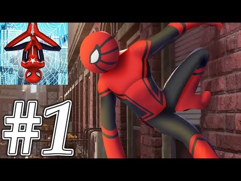 Spider Hero Stickman Rope Warrior - Crimes City 2019 Gameplay Walkthrough #1 (Android, Ios )