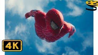 Вступительная Сцена с Человеком-Пауком | Новый Человек-паук: Высокое напряжение (2014) | 4K ULTRA HD