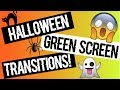HALLOWEEN/FALL GREEN SCREEN EDITING PACK! TRANSITIONS AND ANIMATIONS! (HD)