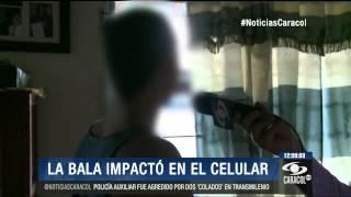 Gracias a un celular, policía sobrevivió a certero disparo - 6 de Junio de 2014