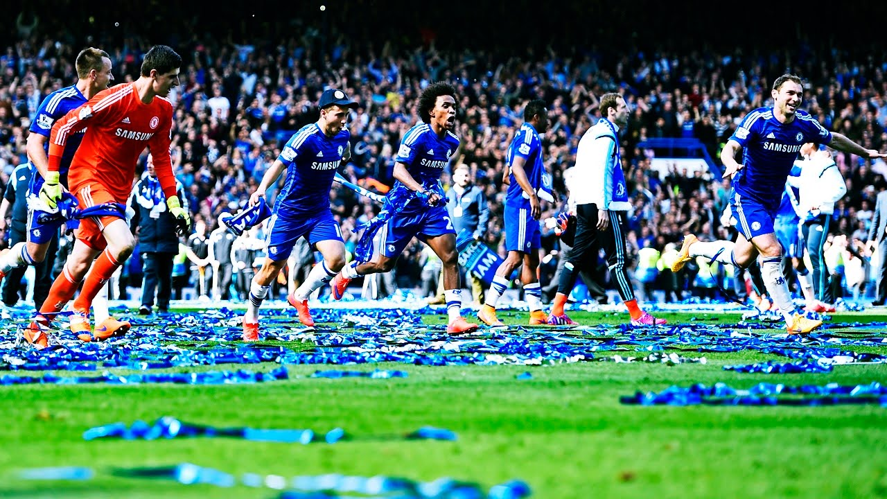 Chelsea FC Champions Of England Celebration At Stamford Bridge