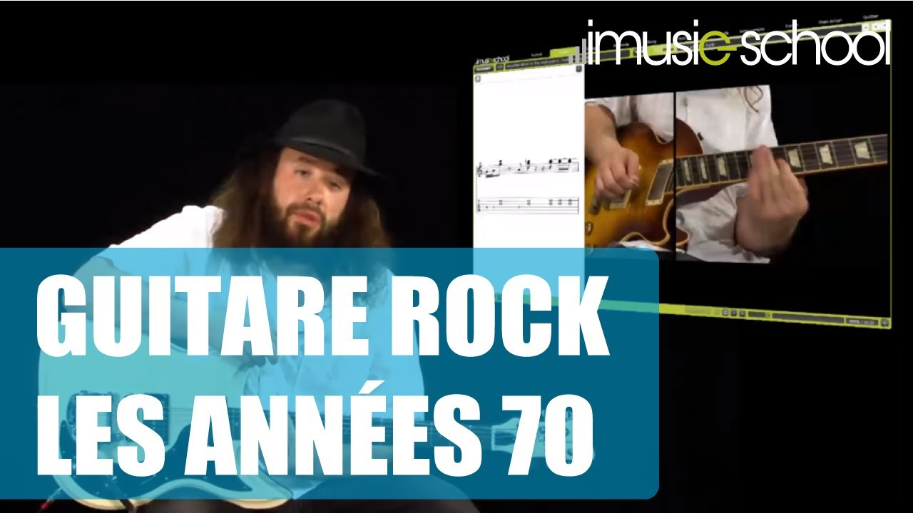 Guitare Rock Les Années 70 Cours De Guitare Avec Julien Bitoun Youtube