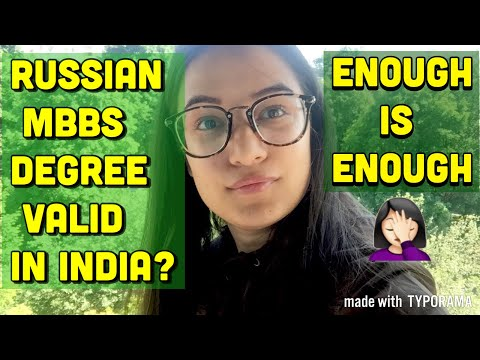Russian MBBS Degree Valid In India? What To Do After MBBS From Russia?