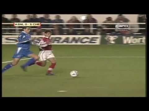 arsenal 0 5 chelsea league cup 1998 youtube