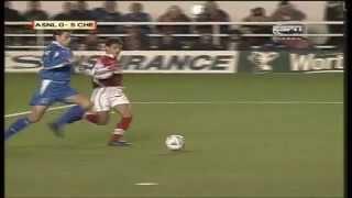 Arsenal 0-5 Chelsea, League Cup 1998