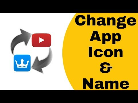 How To Change Android Phone App Icon | Change Any Application Name | New - No Root