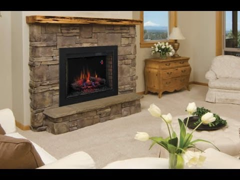 Consider an Electric Fireplace- Install Examples - YouTube