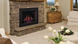 Consider An Electric Fireplace- Install Examples