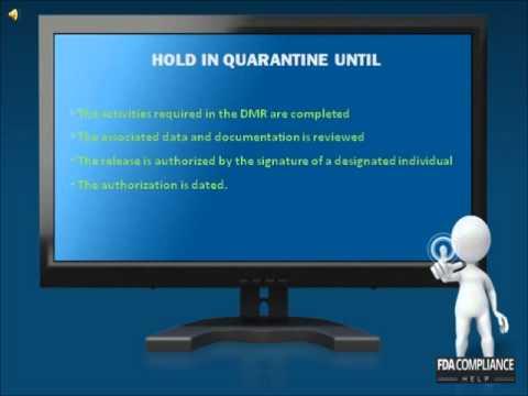 U.S. FDA Regulaitons Training 05