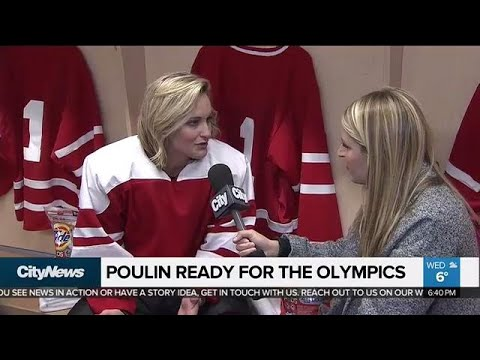 Hockey player Marie-Philip Poulin on getting ready for Winter Olympics