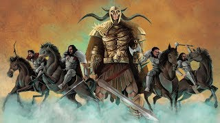AGAINST EVIL - All Hail the King (LYRIC VIDEO)