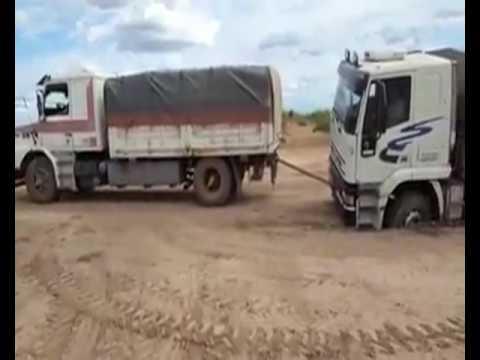 camion estancado