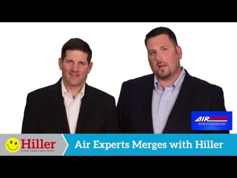 Air Experts Merges with Hiller Plumbing, Heating, Cooling & Electrical