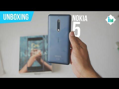 Nokia 5 - Unboxing en español