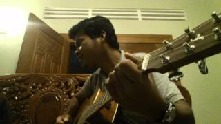 Alai klin oun (អាល័យក្លិនអូន) guitar cover by khmerchord guitar