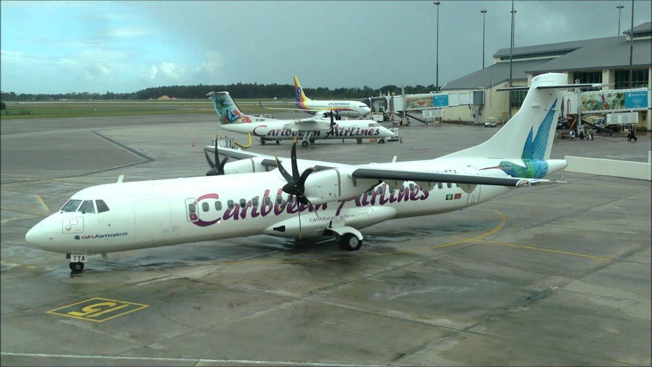 Resultado de imagen para caribbean airlines atr 72