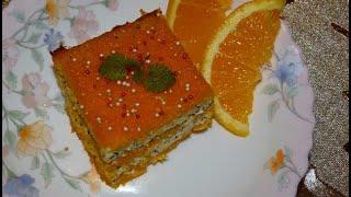 Творожная запеканка с тыквой, маком и морковью. Творожно-тыквенная запеканка. Десерт из тыквы