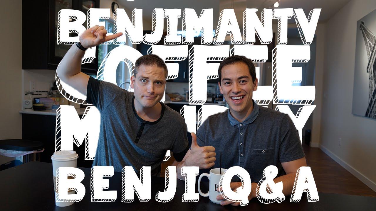 Q A With Benji Coffee Monday Ft Seanthinks Benjimantv