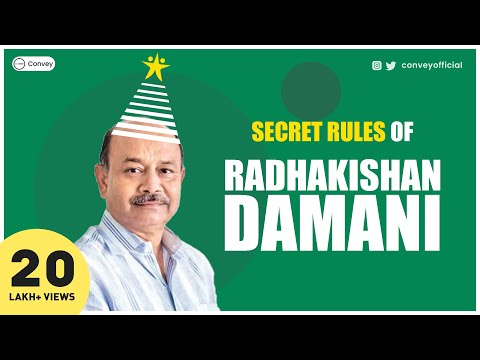 Radhakishan Damani's story | How he became a billionaire investor and entrepreneur (Hindi)