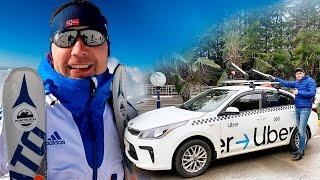 Яндекстакси / Работа в Сочи / Роза Хутор / Горные лыжи / Позитивный таксист