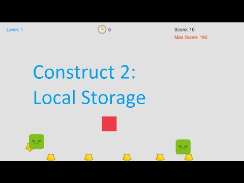 Local Storage in Construct 2