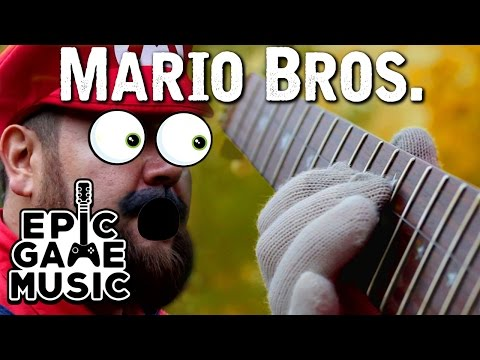 Super Mario Bros. Theme On One String!?!!