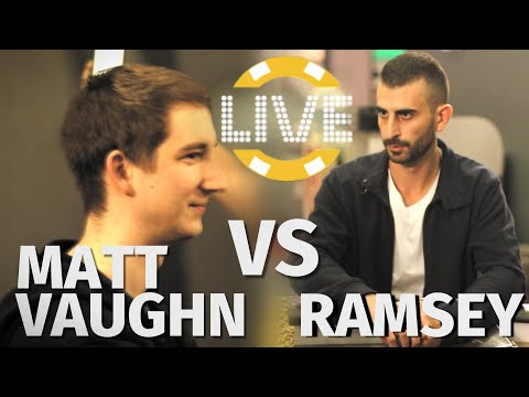 Vlogger Matt Vaughan Put In A Sick Spot By Ramsey ♠ Live at the Bike!