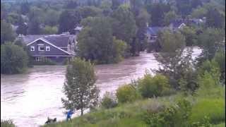 Elbow River Calgary Flood